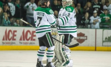 UND Hockey: Two Headed Monster in Net for UND