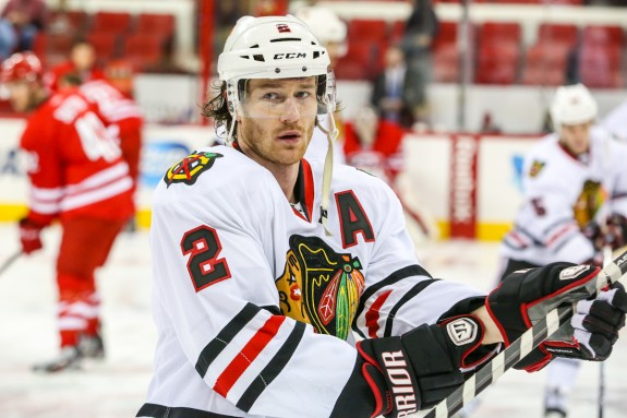 Duncan Keith led all Norris Trophy candidates last season with a plus-22 rating.