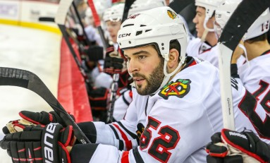 Sharks' Brandon Bollig Signing a Step Backwards