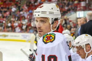 Chicago Blackhawks center Patrick Sharp -  Photo Credit:   Andy Martin Jr