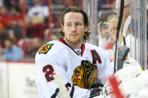 Duncan Keith has been an iron man for the Blackhawks, but how much ice time is too much? - Photo Credit:   Andy Martin Jr