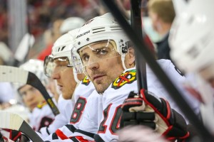 Chicago Blackhawks winger Patrick Sharp - Photo Credit: Andy Martin Jr