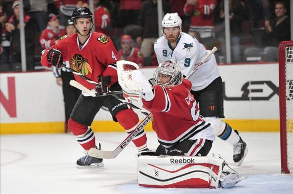 The road trip ended with a 5-1 defeat in Chicago to the Blackhawks. (Mandatory Credit: Rob Grabowski-USA TODAY Sports)