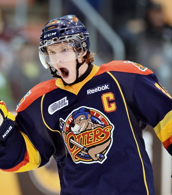 Connor Brown helped the Otters go from worst to first in 2013-14. (Terry Wilson/OHL Images)