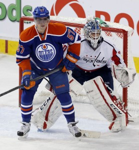 Perron was traded to the Oilers over the summer (Perry Nelson-USA TODAY Sports)