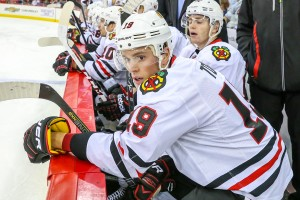 Chicago Blackhawks center Jonathan Toews - Photo Credit:  Andy Martin Jr