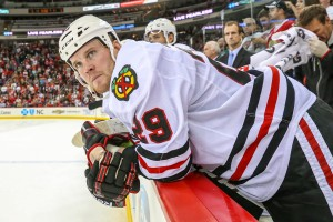 Bryan Bickell Blackhawks  January