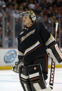 Jonas Hiller (Kirby Lee-USA TODAY Sports)