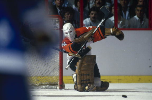 Pelle Lindbergh Flyers Best Goalie