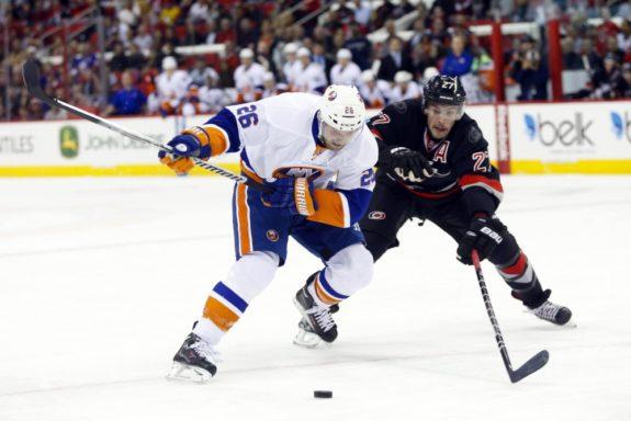 Thomas Vanek Maple Leafs Islanders Canadiens