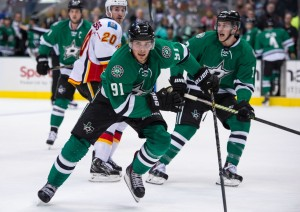Tyler Seguin finished 4th in the NHL in scoring during the 2014 season.