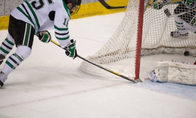 UND Hockey: Long Video Review Confirms Goal