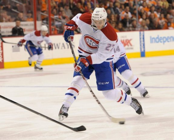 Canadiens Forward Alex Galchenyuk