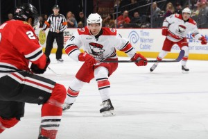 Boychuk Photo Credit: (Gregg Forwerck/Charlotte Checkers)