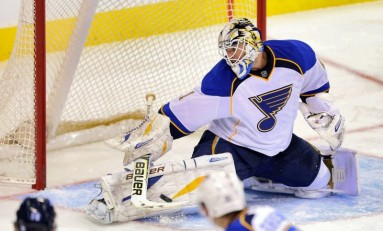 Protect Ya Neck: The Best Blues Goalie Masks of All Time