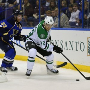 Now with Florida, Colton Sceviour was a valuable part of Dallas' penalty kill last season. (Scott Rovak-USA TODAY Sports)