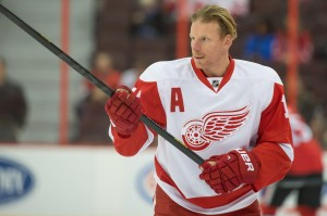 Will Daniel Alfredsson play 50 games this season? (Marc DesRosiers-USA TODAY Sports)