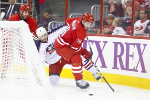 Carolina Hurricanes vs Columbus Blue Jackets (James Guillory-USA TODAY Sports)