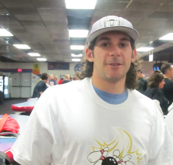 Brian Gibbons will again be a part of the Penguins' Pens and Pins tournament. (Alison Myers/THW)