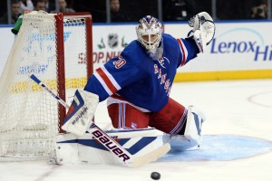The absence of Henrik Lundqvist certainly is not helping the Rangers when it comes to holding on to leads. (Joe Camporeale-USA TODAY Sports)