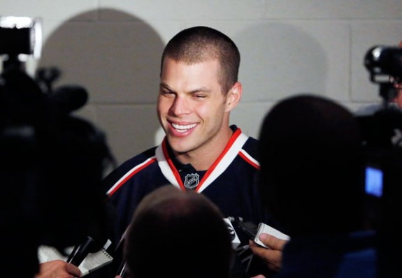 Nathan Horton must be an impact player if the Blue Jackets want to make the playoffs again. (Fred Squillante/Columbus Dispatch)