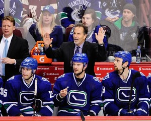 The current Canucks are starting to look a little bit like the team under John Tortorella. (Anne-Marie Sorvin-USA TODAY Sports)