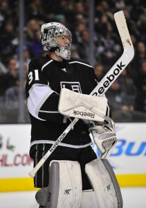 Martin Jones (Gary A. Vasquez-USA TODAY Sports)