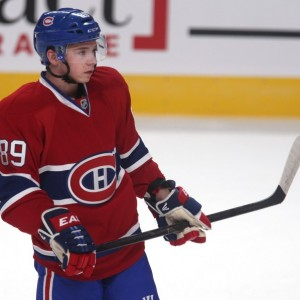 Montreal Canadiens forward Martin Reway