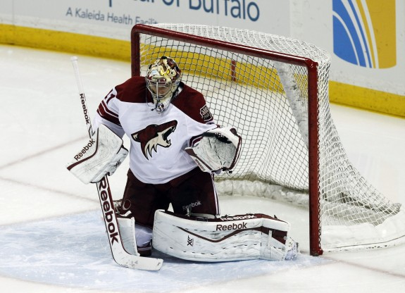 Mike Smith  (Kevin Hoffman-USA TODAY Sports)