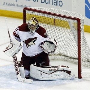 Smith and the Coyotes had a surprising start to the season (Kevin Hoffman-USA TODAY Sports)