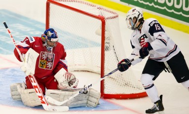 Eichel, Team USA Survive Slovakia to Win Group at Worlds
