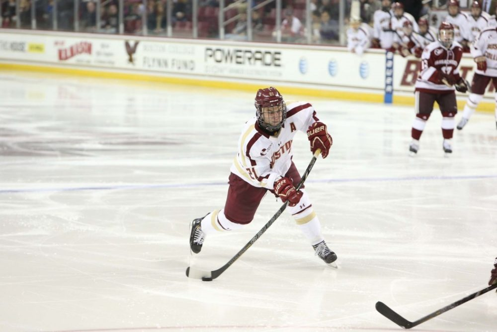 Steven Whitney Photo Credit: (Boston College/John Quackenbos)