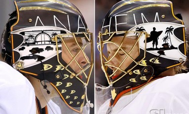 NHL Goalie Masks - From Starters To Backups