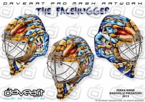Pekka Rinne Predators Mask