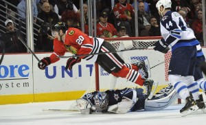 Can Brandon Saad soar to new heights this season? (David Banks-USA TODAY Sports)