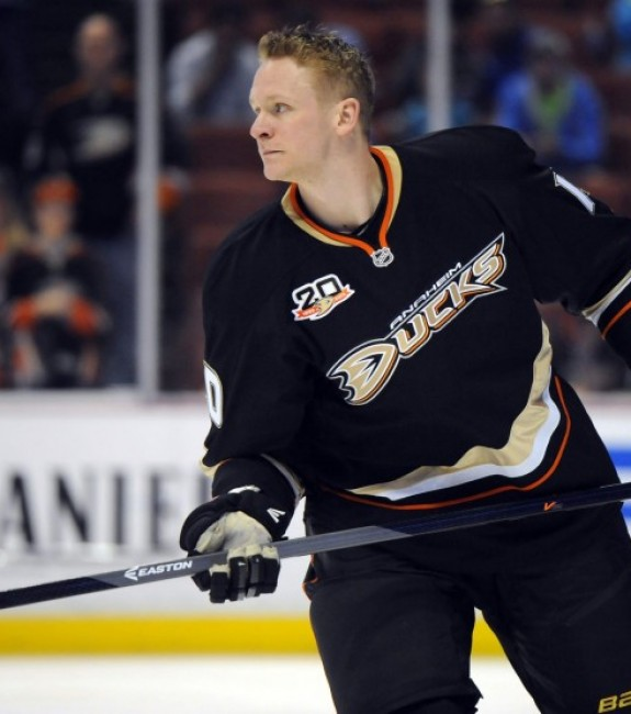 (Christopher Hanewinckel-USA TODAY Sports) Corey Perry is 31 years old now and plays a rough-and-tumble style that could cause him to start slowing down this season. His best years are probably behind him, but Perry remains a strong fantasy asset.