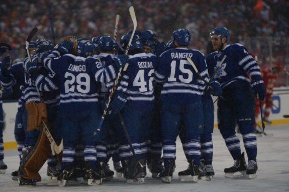 Maple Leafs, NHL, Winter Classic, Tom Turk, The Hockey Writers