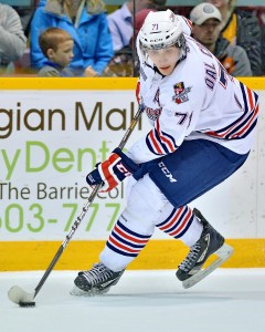 Michael Dal Colle, the 5th overall pick form 2014 (Terry Wilson /OHL Images)
