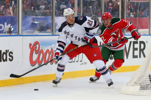 Marek Zidlicky never played a game for the Rangers, but has played against them numerous times.(Ed Mulholland-USA TODAY Sports)