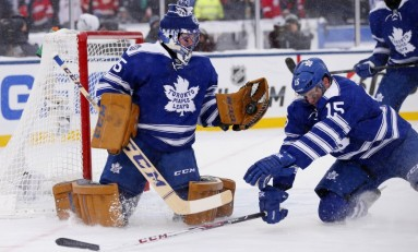 Maple Leafs Hosting Red Wings in Centennial Classic