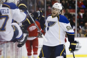 Paajarvi has been used in all scoring situations in St. Louis (Rick Osentoski-USA TODAY Sports)