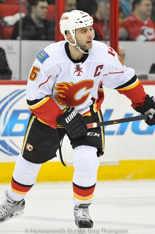 Mark Giordano will be a Norris Finalist after this season. (Greg Thompson/Hammersmith Studios)