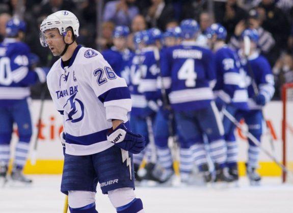 Martin St. Louis, Tampa Bay Lightning