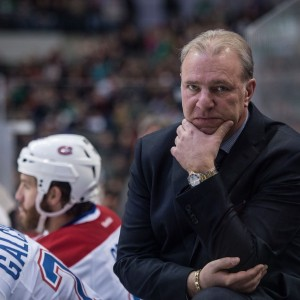 Former Montreal Canadiens head coach Michel Therrien