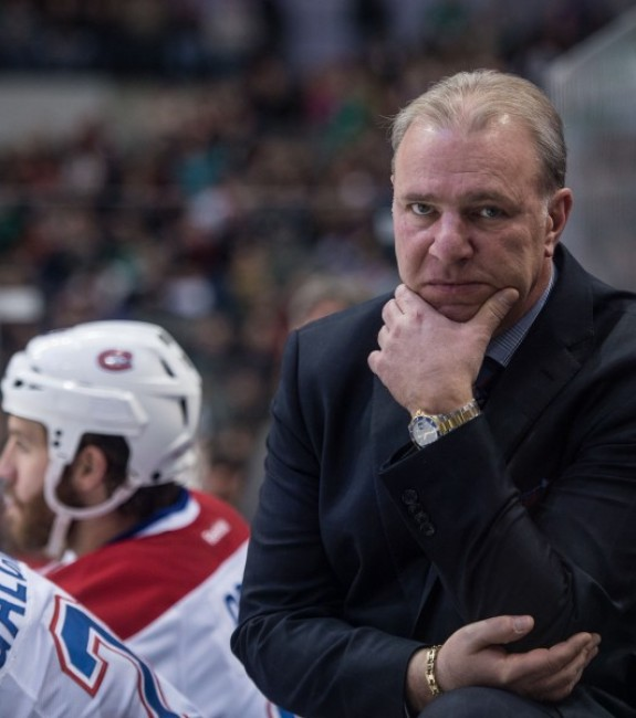 (Jerome Miron-USA TODAY Sports) Rightly or wrongly, Michel Therrien is still the head coach of the Montreal Canadiens.