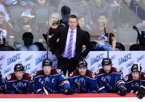 (Ron Chenoy-USA TODAY Sports) Patrick Roy will no longer be patrolling the Colorado Avalanche bench after stepping down this past Thursday.