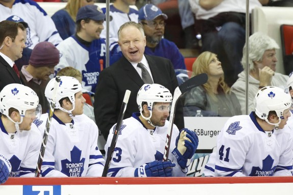 Randy Carlyle Toronto Maple Leafs