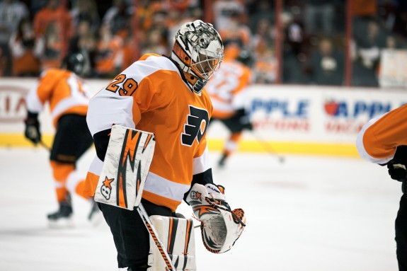Can the Flyers withstand a lack of confidence in backup goalie Ray Emery?