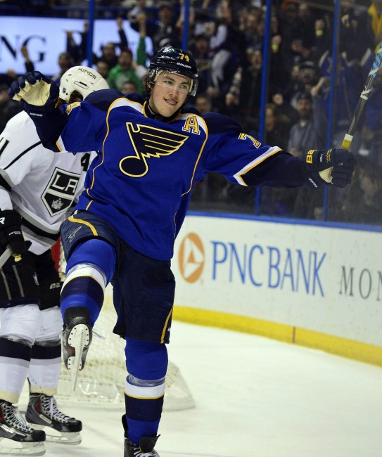Oshie is widely considered the Blues' best player (Scott Rovak-USA TODAY Sports)