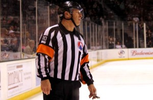 NHL Referee Obstruction Penalty